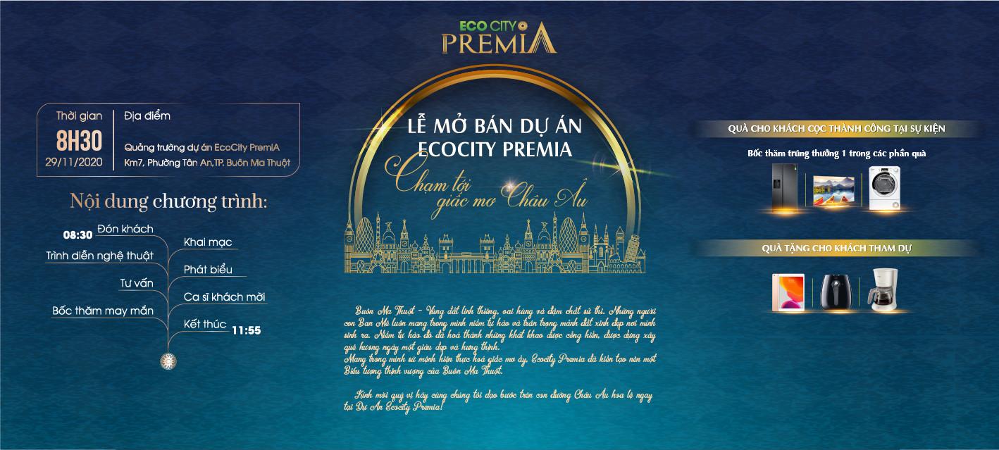 """Lễ mở bán dự án Ecocity Premia """"Chạm tới giấc mơ Châu Âu"""""""