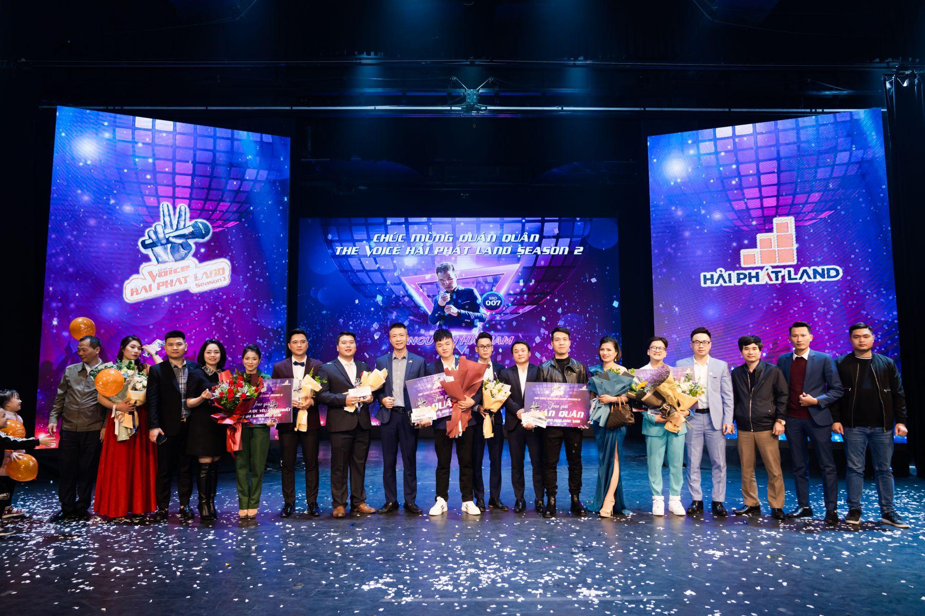 Chung kết The Voice Hai Phat Land Season 2: Cú lội ngược dòng ngoạn mục từ 'chiếc vé may mắn' của Quán quân