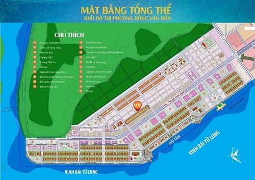 Hải Phát Land độc quyền phân phối Block Liền kề 11 Khu đô thị Phương Đông Vân Đồn
