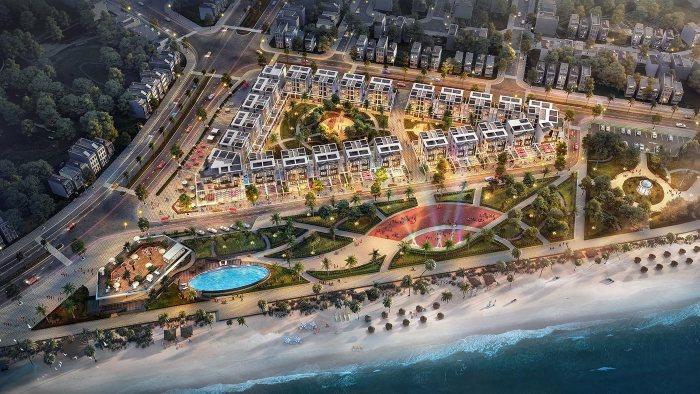Tuy Hòa có Shop Villas phố biển đầu tiên cạnh sân bay