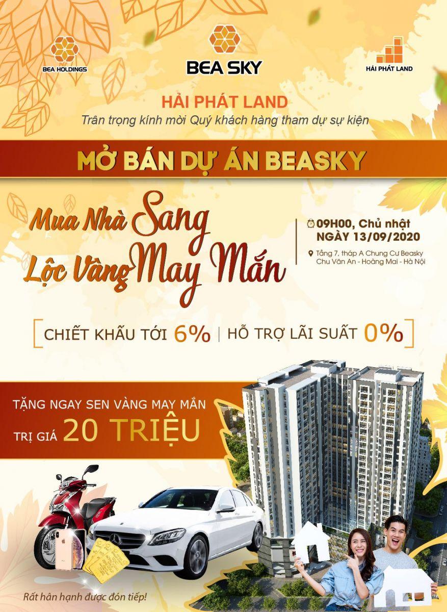 Mở bán dự án Beasky - Mua nhà sang lộc vàng may mắn