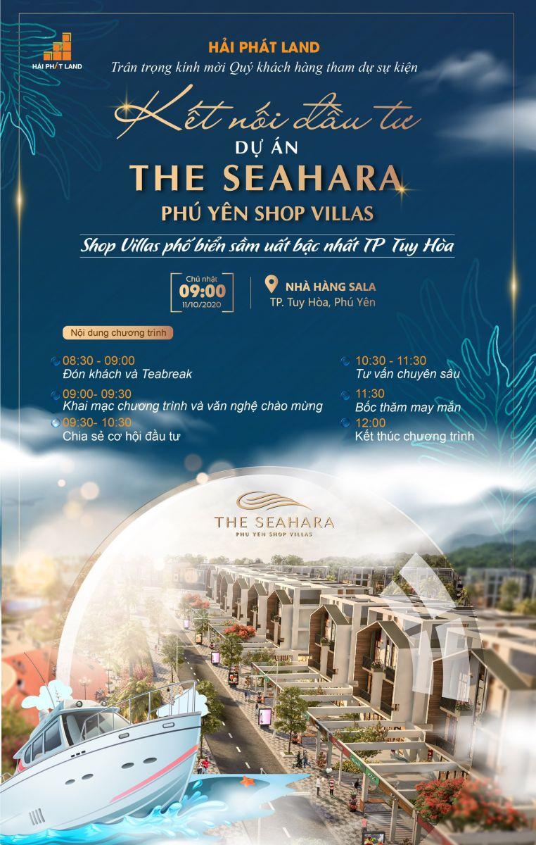 Kết nối đầu tư dự án The Seahara Phú Yên Shop Villas