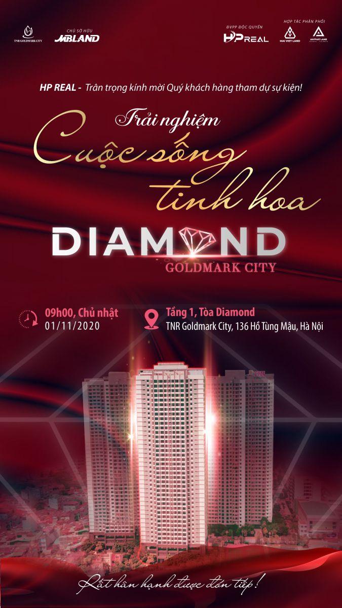 Trải nghiệm cuộc sống tinh hoa cùng Diamond Goldmark City