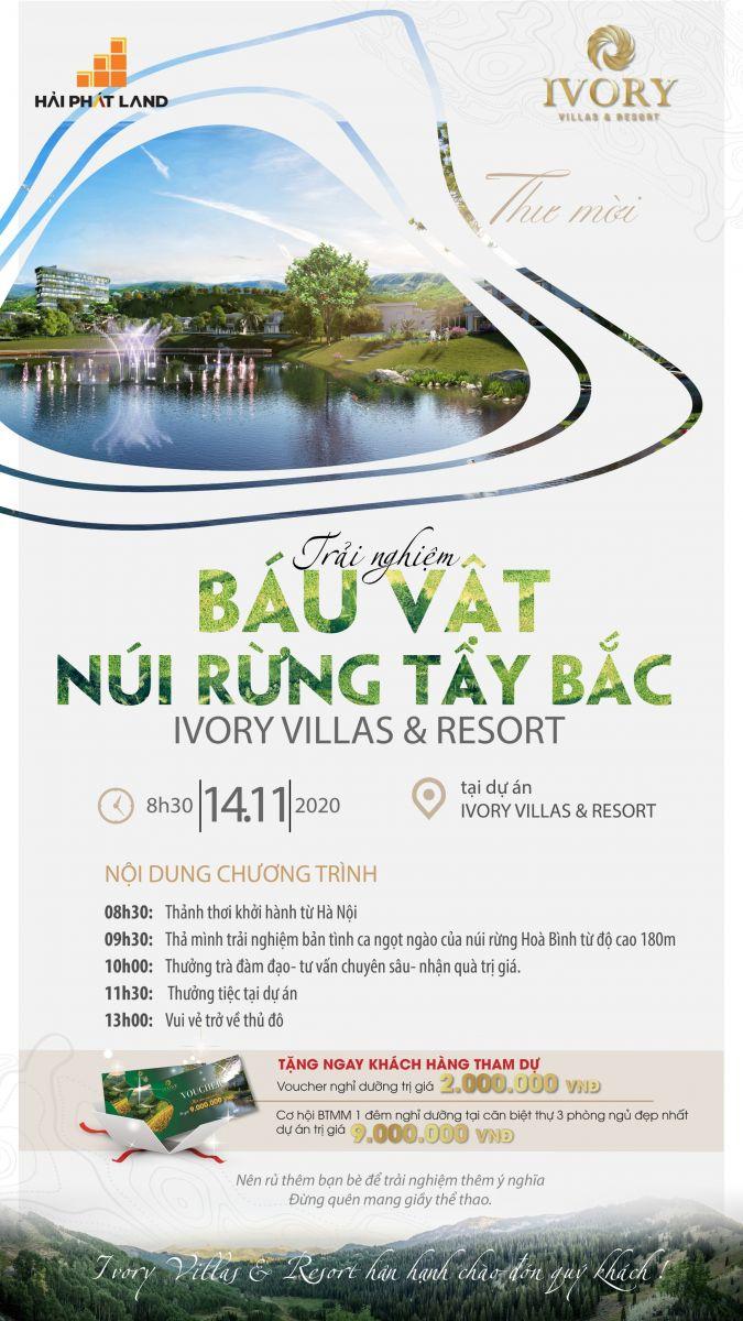 Hành trình khám phá miền Chân Mây - Ivory Villas & Resort Hòa Bình